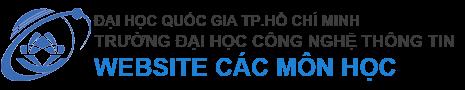 Trường ĐH CNTT - Website môn học
