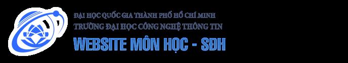 Website môn học - Cao học - NCS